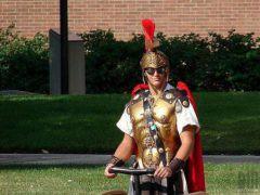 Как Цезарь на колеснице: 2 новейших гироцикла и гироскутер